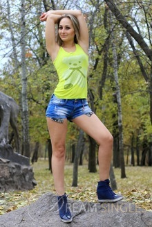 Beautiful Russian Woman Antonina from Zaporozhye