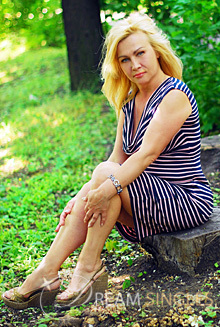 Beautiful Russian Woman Larisa from Mariupol