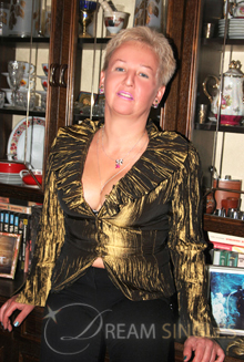 Beautiful Russian Woman Lyudmila from Moscow