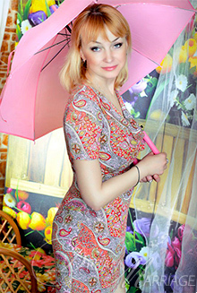 Beautiful Russian Woman Oksana from Lugansk