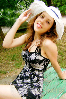 Beautiful Russian Woman Anna from Feodosia